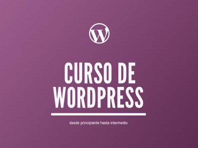 Curso de WordPress   Creación de Sitios Web