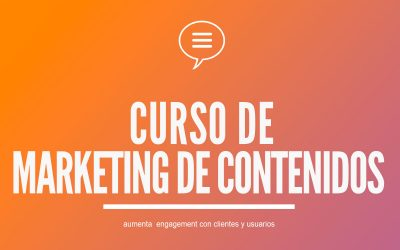 Curso de Marketing de Contenidos | Blog y Redes Sociales
