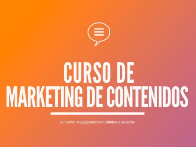 Curso de Marketing de Contenidos | Para Blog y Redes Sociales