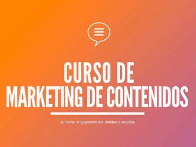 Curso de Marketing de Contenidos | Blog y Redes Sociales
