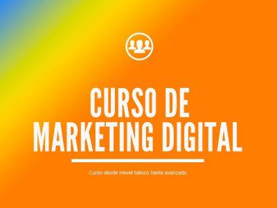 Curso de Estrategias de Marketing Digital